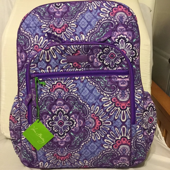 1beb45000a34 Lilac Tapestry Vera Bradley Backpack – Check Now Blog